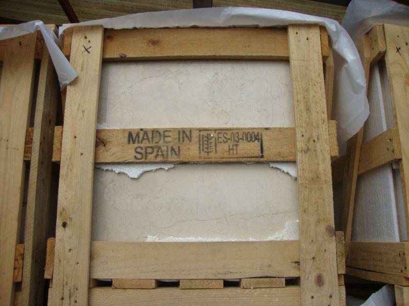 Мспанская плитка Crema Marfil