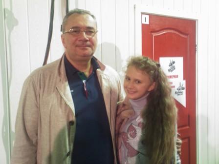 Konstantin Meladze i Alina Ovcharenko